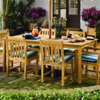 """Oxford Garden Hampton 76"""" x 40"""" Rectangle Dining Table"""
