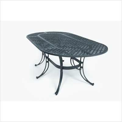 """82"""" Oval Patio Table"""