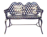 Three Coins Archweave Settee