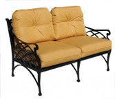 Three Coins Crossweave Loveseat