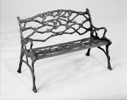 Three Coins Twig Bench