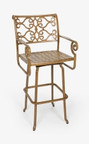 Three Coins Veracruz Swivel Barstool