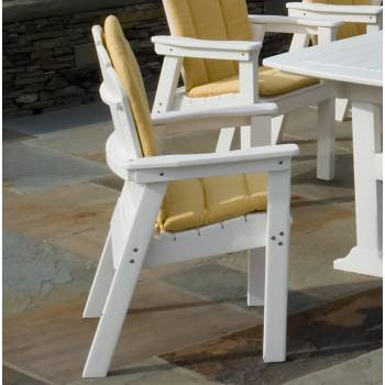 Seaside Casual Classic Adirondack Dining Chair