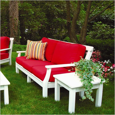 Superbe Seaside Casual Nantucket Deep Seating Sofa