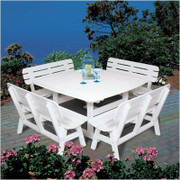 """Portsmouth 56"""" Square Dining Table - EnviroWood"""