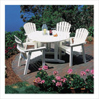 Shell Back 4-Seat Dining Set