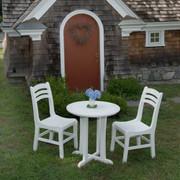 """Seaside Casual Westport 30"""" Outdoor Bistro Table - EnviroWood"""