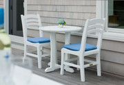 "Seaside Casual Westport 30"" Outdoor Bistro Table - EnviroWood"