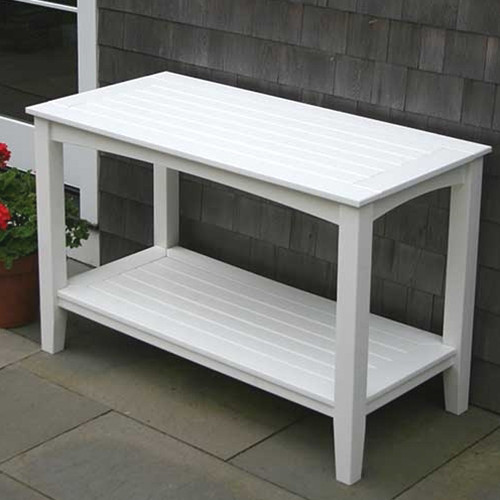 Seaside Casual Windsor Outdoor Buffett Table Small - EnviroWood