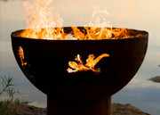Fire Pit Art Kokopelli Wood Burning Fire Pit