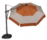 Treasure Garden 11' AKZ Octagon Cantilever Umbrella