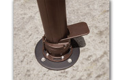 Treasure Garden 11' AKZ Octagon Cantilever Umbrella Concrete Mount