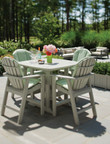 "Seaside Casual Portsmouth 42"" Square Balcony Table"