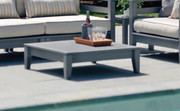 Seaside Casual Cambridge Sectional Coffee Table in Charcoal