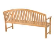 CO9 Design Dodger 6' Teak Bench