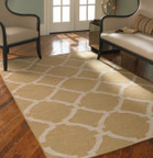 Uttermost Bermuda Area Rug - Wheat