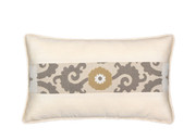 Elaine Smith Sedona Ivory Toss Pillow