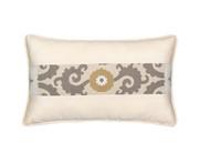 Elaine Smith Sedona Ivory Toss Pillow