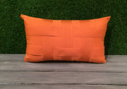 Elaine Smith Basketweave Tuscan Lumbar Pillow