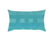 Elaine Smith Basketweave Aruba Lumbar pillow
