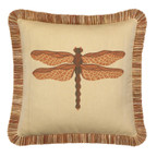 Elaine Smith Dragonfly Spice Toss Pillow