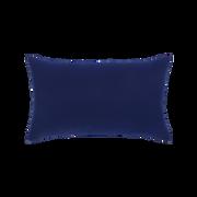 Elaine Smith Navy Braided Lumbar pillow, back