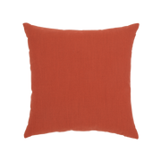 Coral Cruise Chevron toss pillow, back