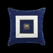 Elaine Smith Navy Cruise Jewel toss pillow