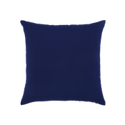 Elaine Smith Navy Cruise Jewel toss pillow, back