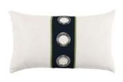 Elaine Smith Navy Cruise Vertical Lumbar pillow