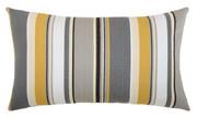 Elaine Smith Shadow Stripe Lumbar pillow
