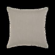 Elaine Smith Basketweave Gray Lumbar pillow, back