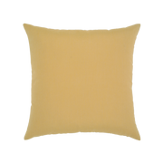 Elaine Smith Golden Floral toss pillow, back