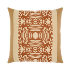 Elaine Smith Nutmeg Block toss pillow