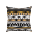 Elaine Smith Golden Deco toss pillow