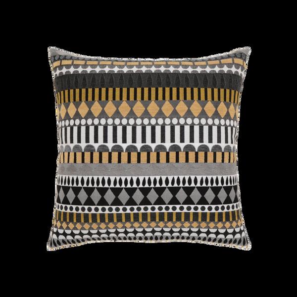 Elaine Smith Golden Deco toss pillow