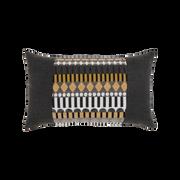 Elaine Smith Golden Deco Lumbar pillow