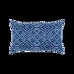 Elaine Smith Tile Midnight Lumbar pillow