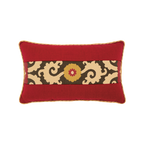 Elaine Smith Suzani Sun Lumbar pillow