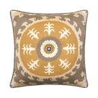Elaine Smith Jeweled Sedona Sun toss pillow