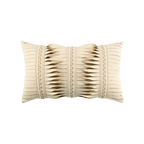 Elaine Smith Gladiator Ivory Lumbar pillow