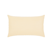 Elaine Smith Gladiator Ivory Lumbar pillow, back