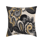 Elaine Smith Floral Shadow toss pillow