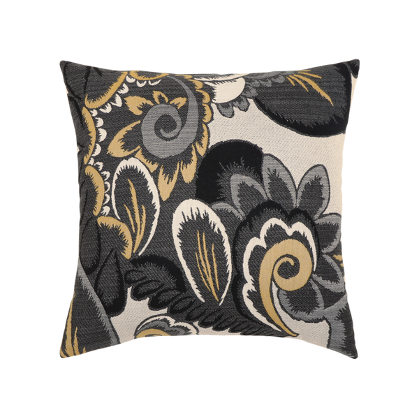 Elaine Smith Floral Shadow toss pillow