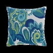 Elaine Smith Floral Wave toss pillow