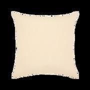 Elaine Smith Basketweave Ivory toss pillow, back