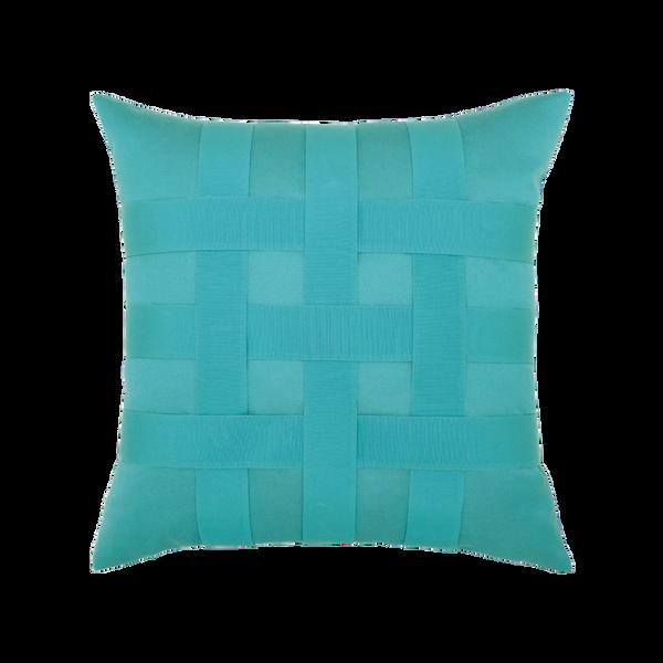 Elaine Smith Basketweave Aruba toss pillow