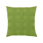 Elaine Smith Basketweave Gingko toss pillow