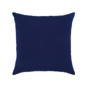 Elaine Smith Basketweave Navy toss pillow, back