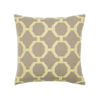 Elaine Smith Octagon Citrine toss pillow
